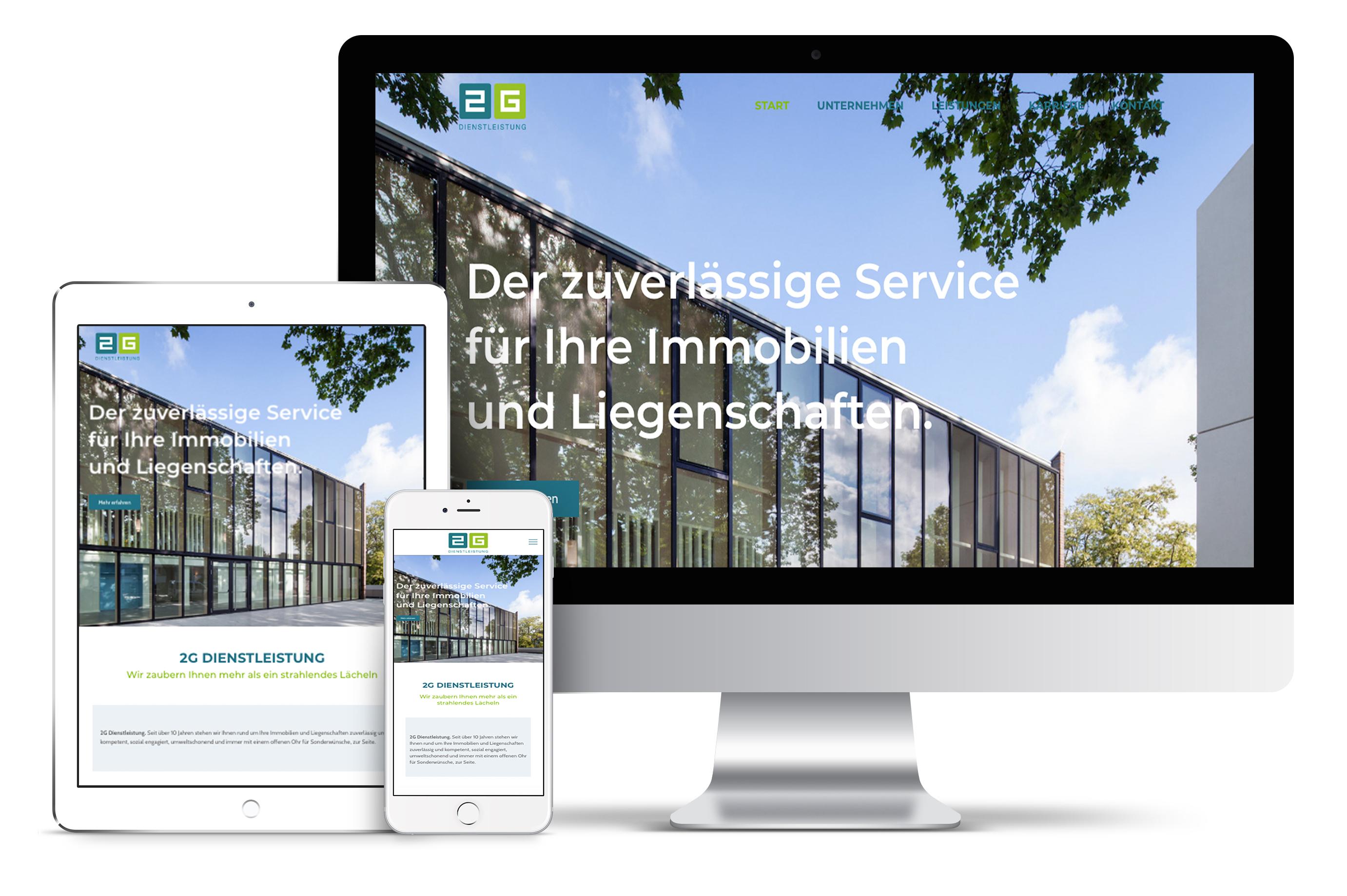 2G Dienstleistung   Webdesign