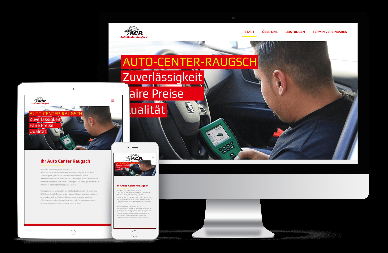 Auto Center Raugsch| Webdesign