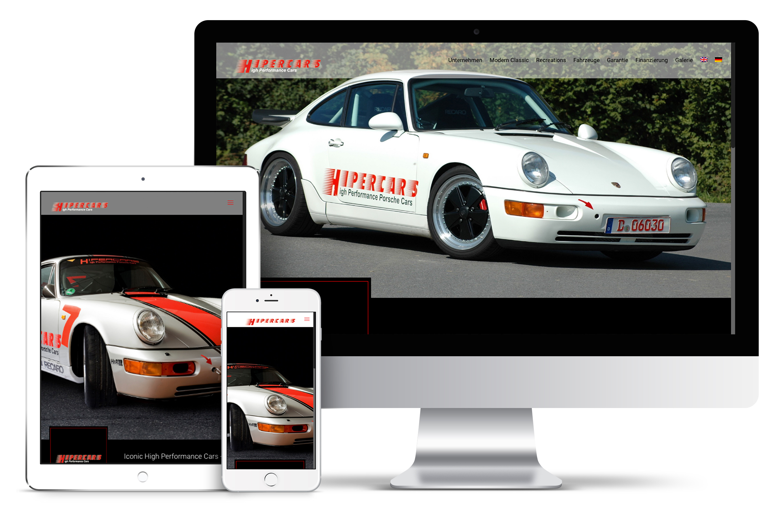 HiperCars | Webdesign