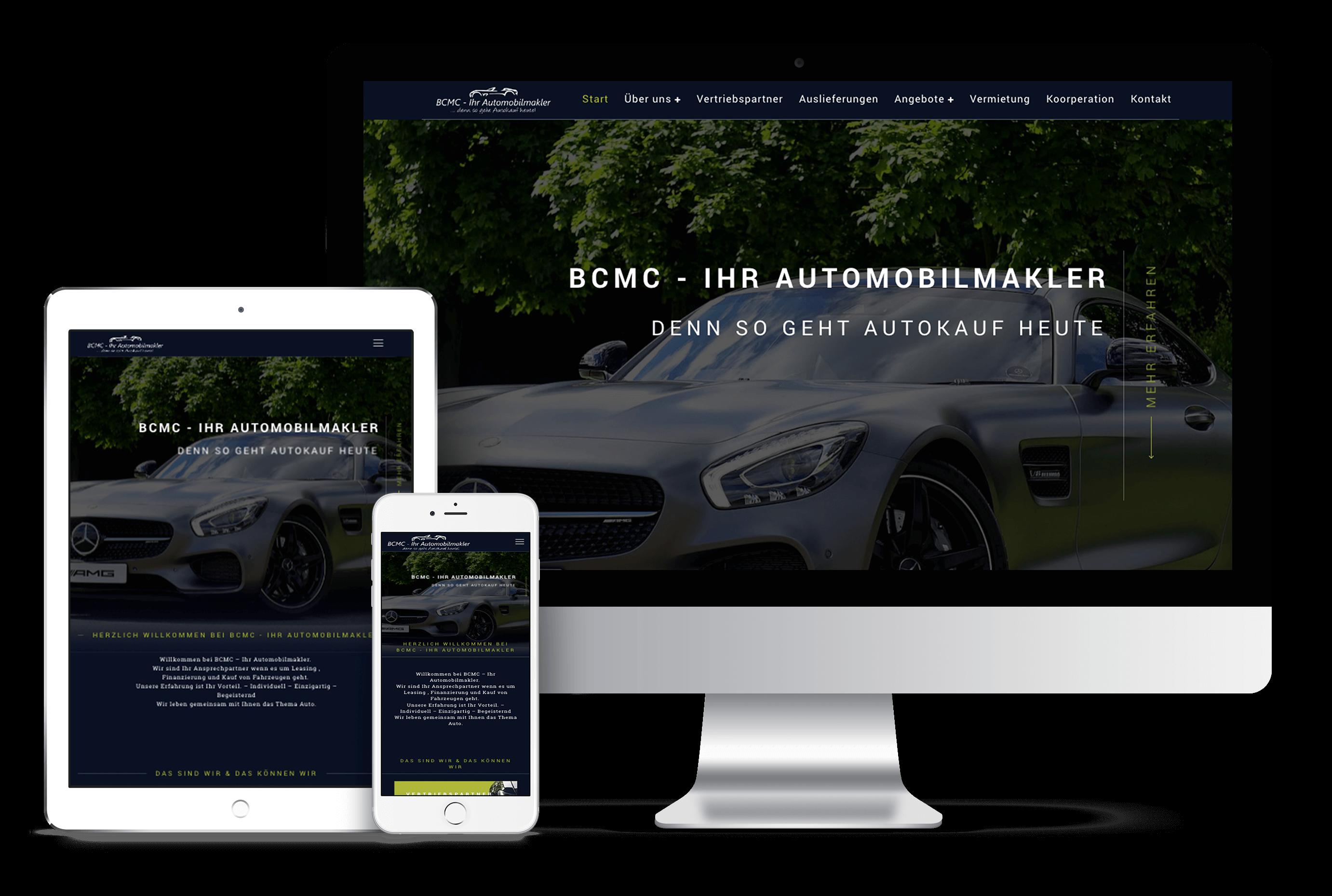 BCMC Group | Webdesign