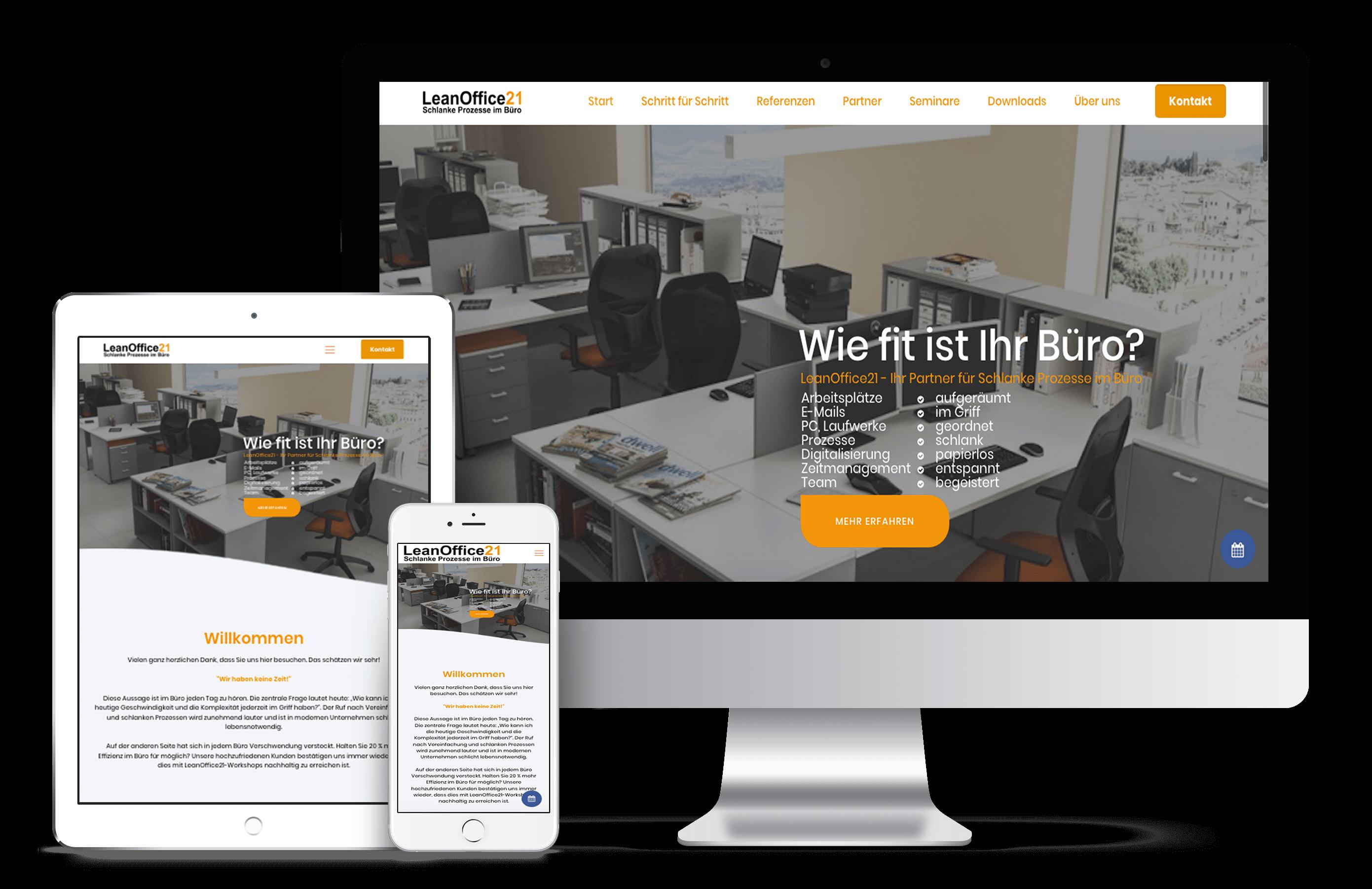 LeanOffice21 | Webdesign