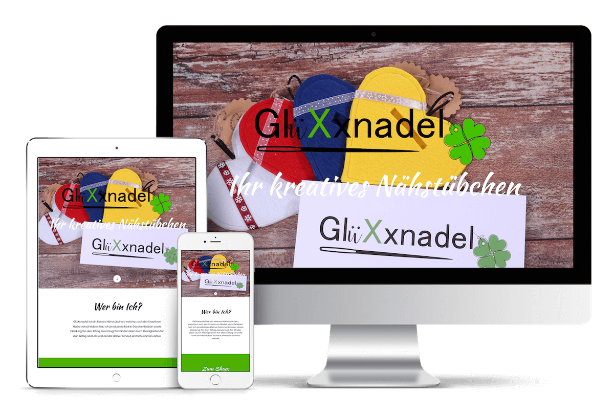 GlüXxnadel | Webdesign