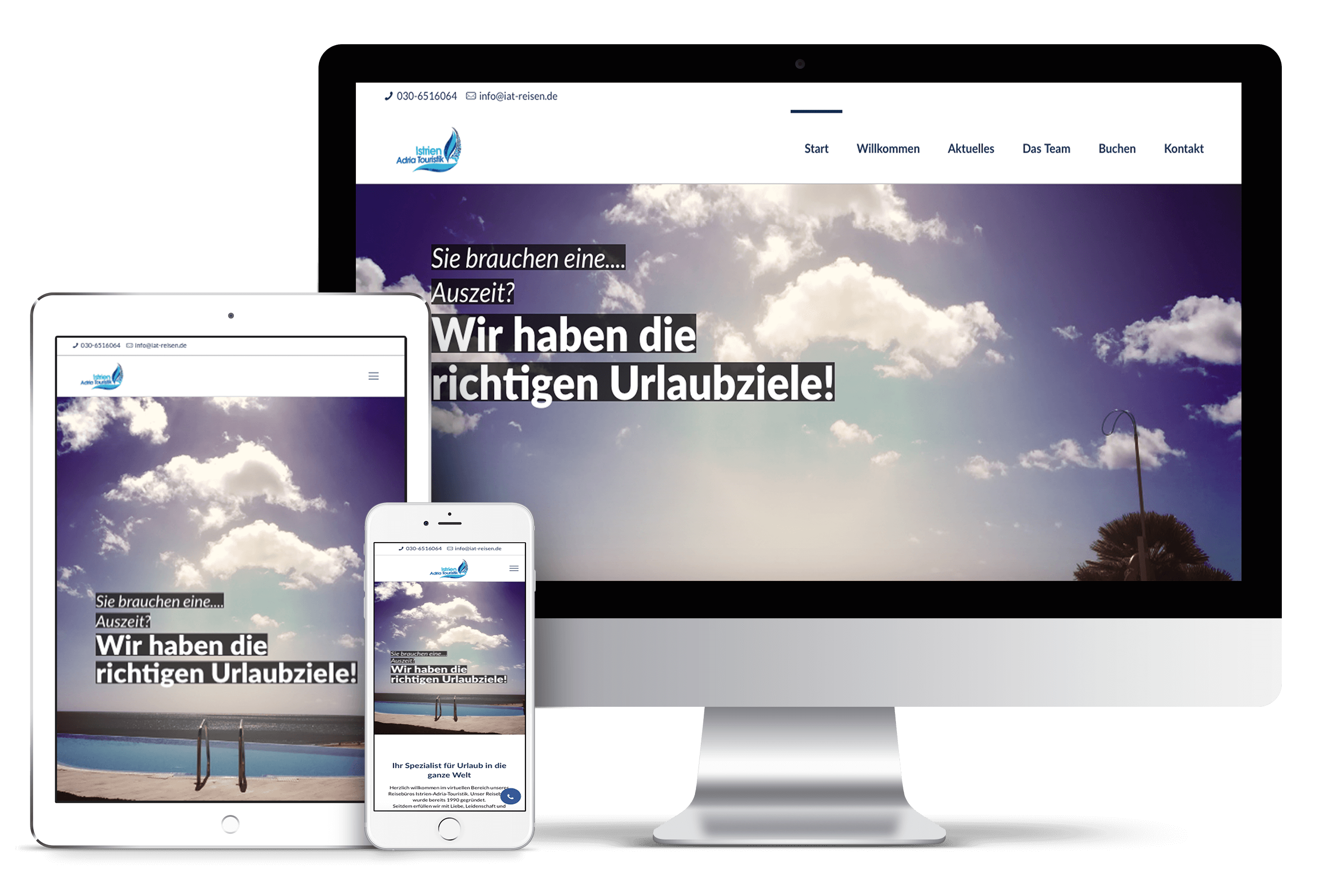 Istrien Adria Touristik | Webdesign