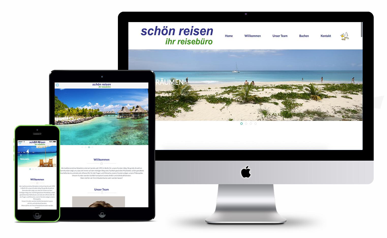 Schön Reisen | Webdesign