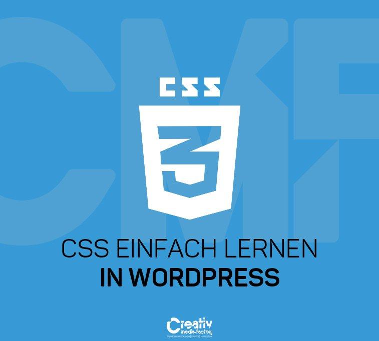 CSS EINFACH LERNEN IN WORDPRESS