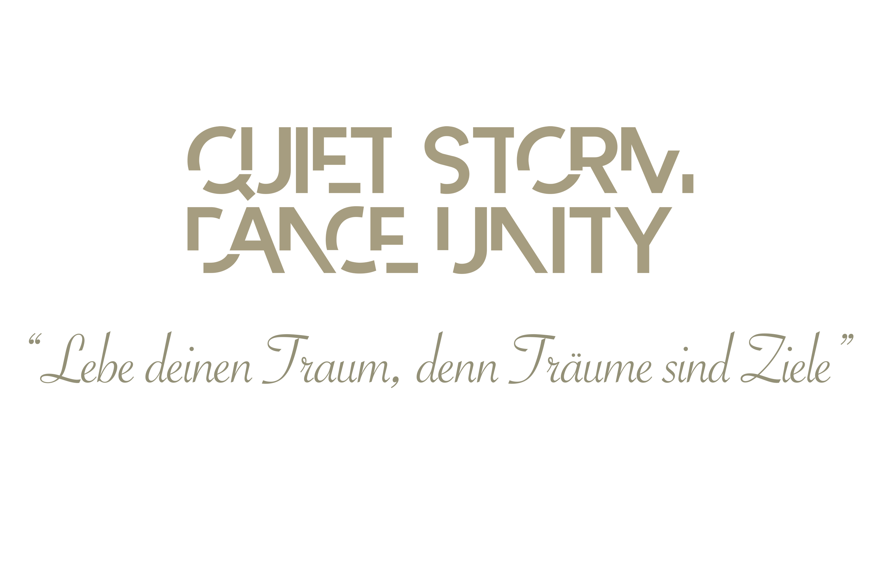 Quiet Storm Dance Unity | Logodesign | Slogandesign