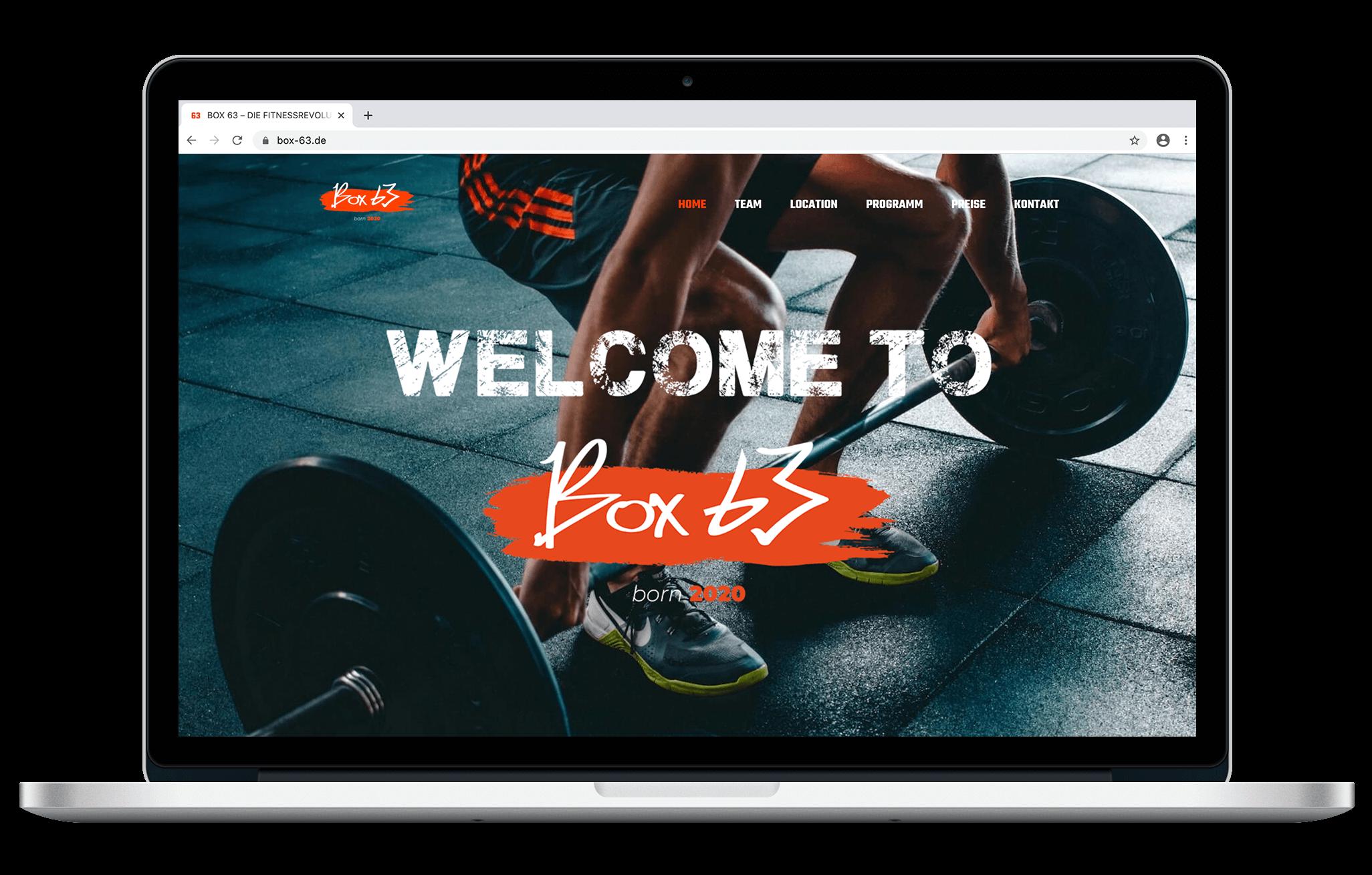 Box 63 | Webdesign