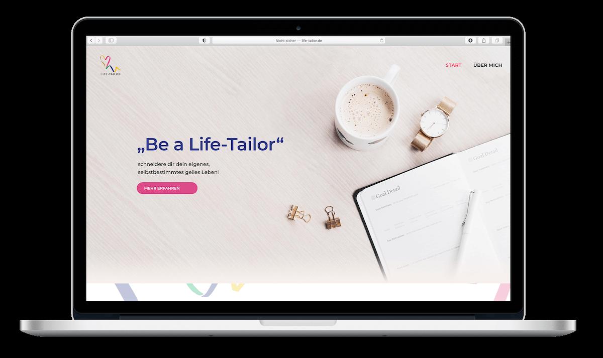 Life Tailor | Webdesign