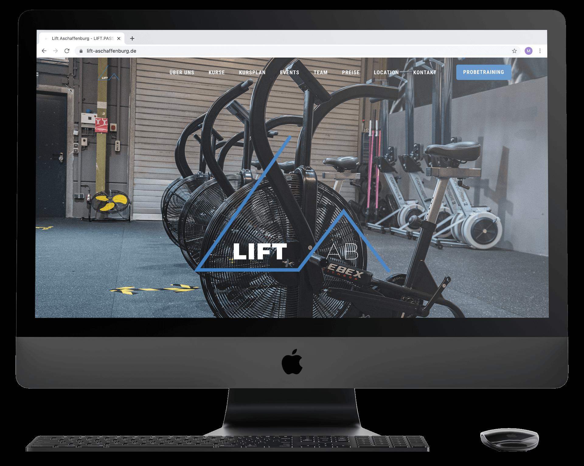 Lift Aschaffenburg   Webdesign