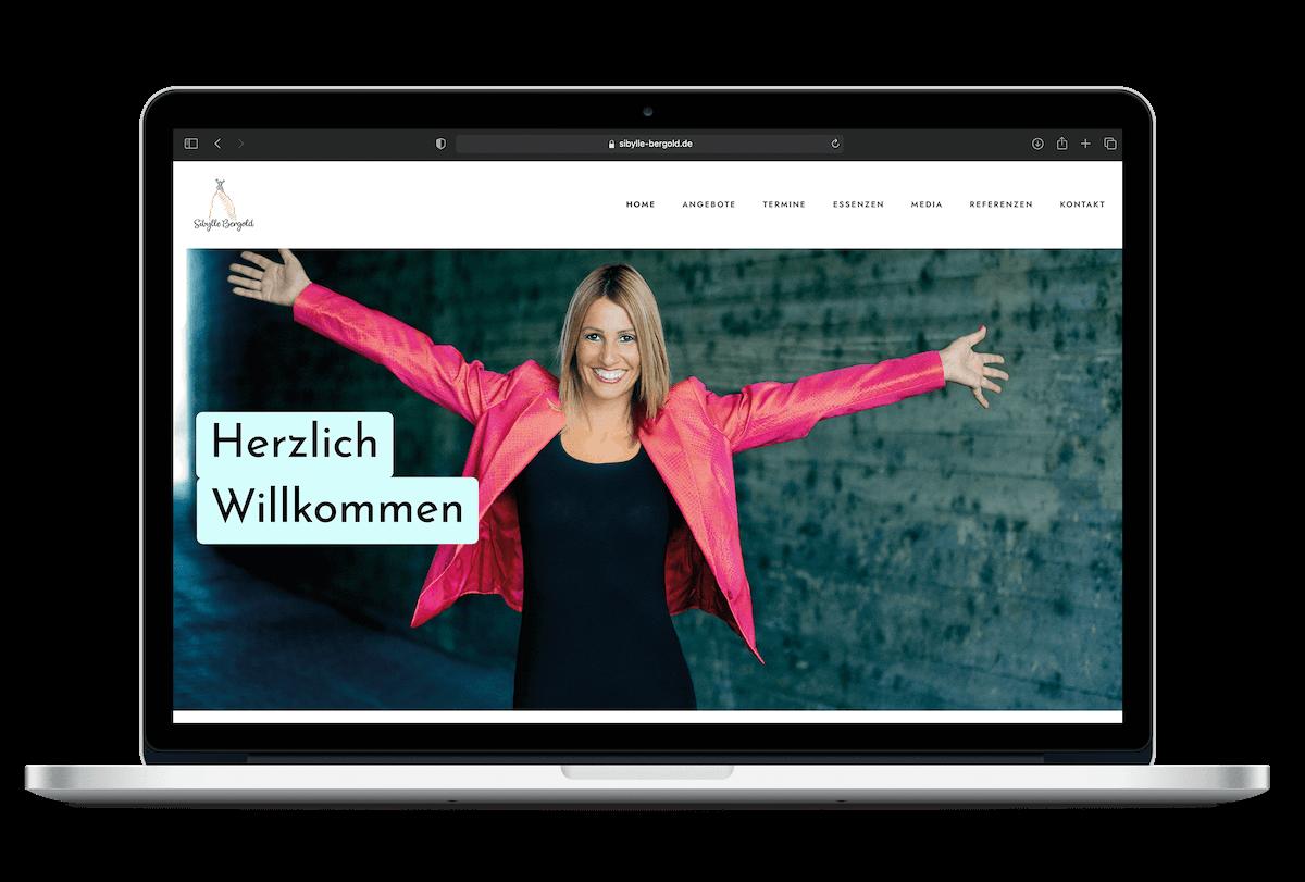 Sibylle Bergold | Webdesign | Grafikdesign
