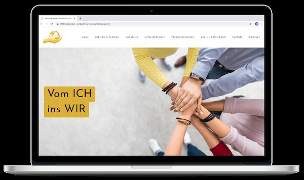 Internationaler Verband für Systemaufstellung  | Webdesign | Grafikdesign