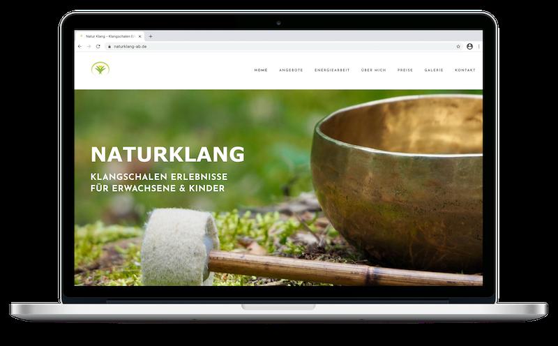 Natur Klang    Webdesign   Grafikdesign