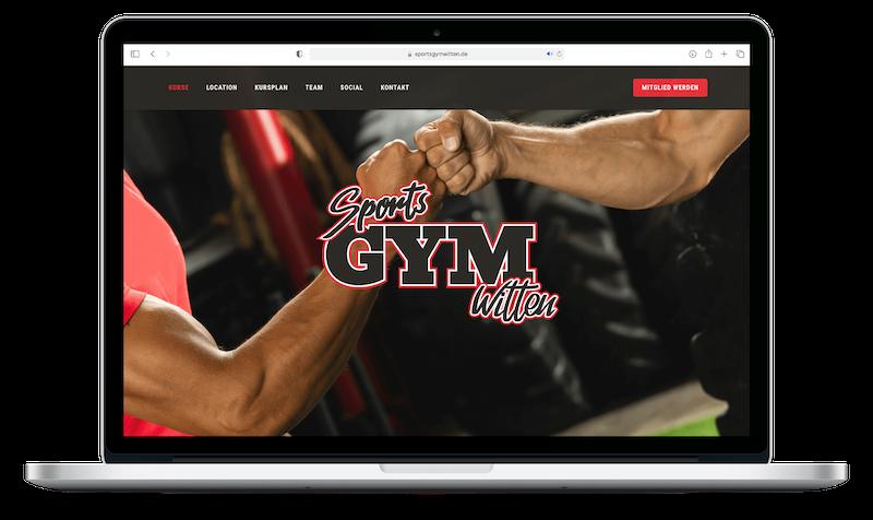Sports Gym Witten   Webdesign   Grafikdesign