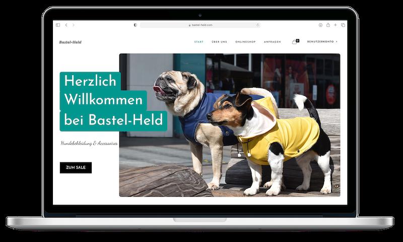 Bastel-Held | Webdesign | Grafikdesign